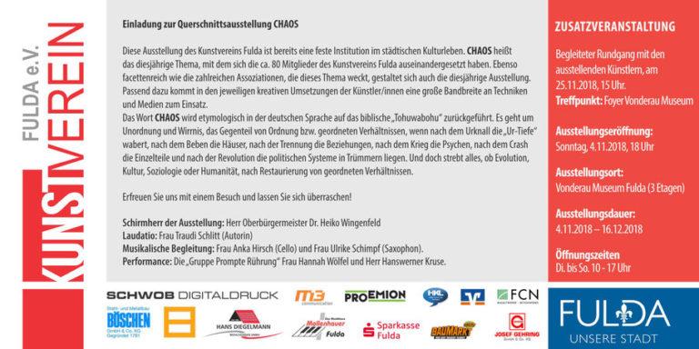 Annette Scheder_Querschnittsausstellung Chaos 2
